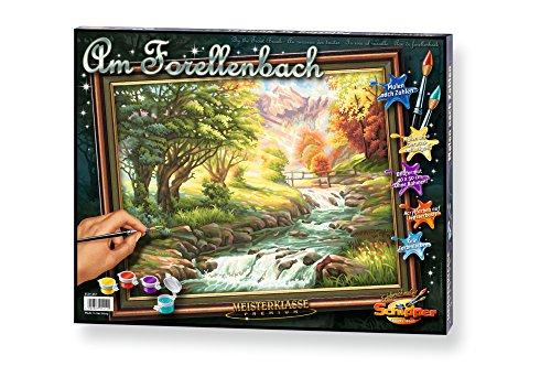 Schipper 609130412 - Malen nach Zahlen - Forellenbach, 40x50 cm Preisvergleich
