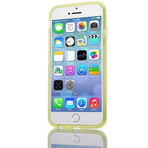 392a63e30ba ... iPhone 6 6S Bumper von NICA, Dünner Rutschfester Silikon Rahmen Soft &  Ultra-Slim