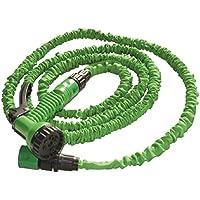 Supergreen SU-006 - Tubo per irrigazione maxi3, lunghezza estensibile da 7,5 a 23 m - Piante Irrigazione Tubi