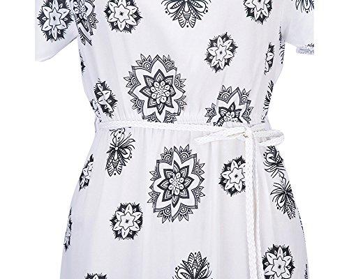 Femmes Robes Épaules Nues Manches Courtes Plissée Robe Longue Maxi Robe de Soirée D'été Bustier Blanc