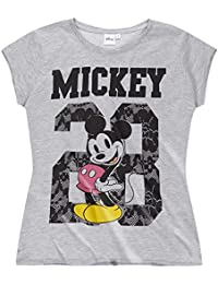 Disney Mickey Femme Tee-shirt 2016 Collection - gris
