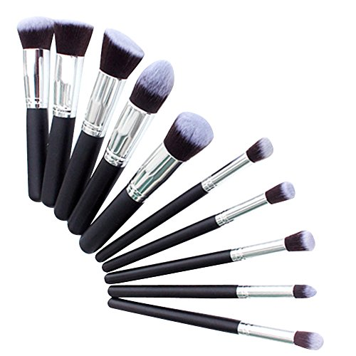 Makeup Brush Set black