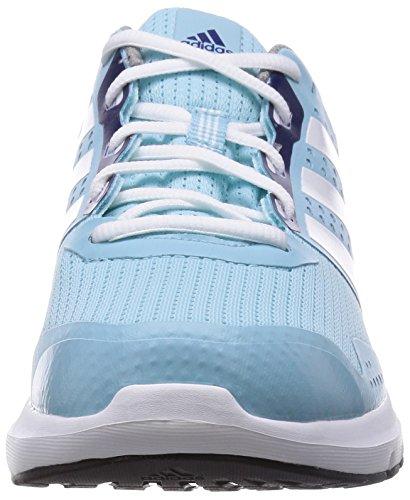adidas Duramo 7, Running Femme Bleu (Frozen Blue F15/White/Midnight Indigo F15)