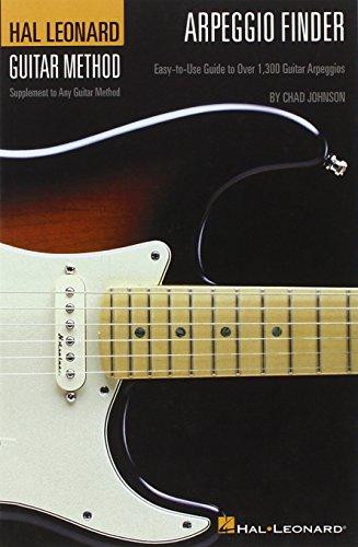 Arpeggio Finder: Easy-To-Use Guide to Over 1,300 Guitar Arpeggios