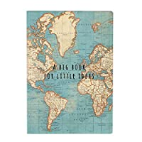 Sass & Belle A Big Book for Little Ideas Vintage Map A5 Notebook