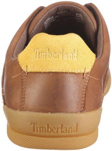 Timberland CA Split Cupsole FTM Butt Seam Ox 99541, Baskets mode homme Brun - V.3