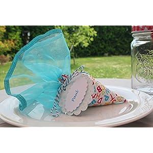 Minischultüte zur Einschulung / Tischdeko