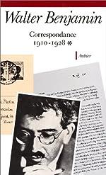 Correspondance /Walter Benjamin Tome 1 - 1910-1928 de Walter Benjamin