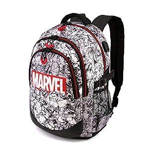 51KCGl%2BqrKL. SS300  - Marvel Brick-Mochila Running HS