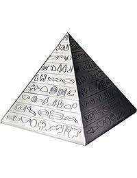LQQ Cenicero En Forma De Pirámide, Cenicero Retro, Cenicero De Aleación De Zinc,
