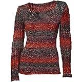 Heine - Best Connections Damen-Pullover Woll-Pullover Mehrfarbig