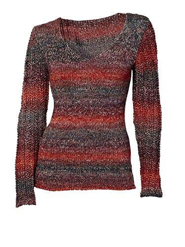 Heine - Best Connections Damen-Pullover Woll-Pullover Mehrfarbig Größe 44/46