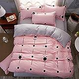 Home Textile, Pastoral Style Bedding Duvet Cover Sets Fashion Exquisite Bedroom Set 4pcs 1 Quilt cover 1 Bed sheets 2 pillowcase , 003 , 150x200cm