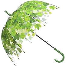 Remedios Durchsichtiger Maple Regenschirm Kuppel Transparent Hochzeitsschirm