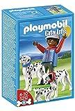Playmobil - Dálmatas con cachorro, set de juego (5212)