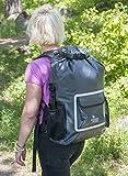 The Friendly Swede wasserdichter Rucksack - Outdoor Dry Bag, Fahrradrucksack, Laptop Rucksack, Multifunktionsrucksack mit Rollverschluss (33L) Vergleich