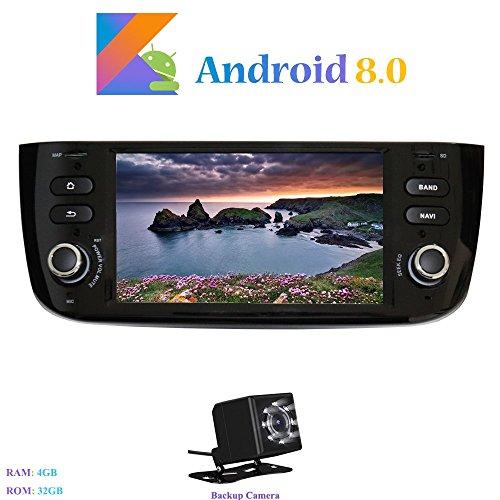 Android 8.0 Autoradio, Hi-azul 1 DIN 6.2 Pulgadas Radio de Coche 8-Core...