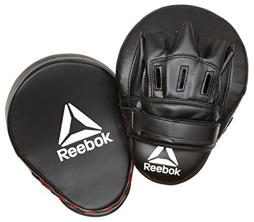 Reebok RSCB-11150RD Paos de Boxeo, Negro/Rojo, Talla Única