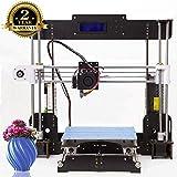 Imprimante 3D A8 Prusa I3 DIY Imprimante 3D de bureau , Impression rapide et de haute précision de modèles 3D (120 mm / s), Imprimante avec ABS / PLA de 1.75 mm ( Imprimante 3D A8)-Colorfish