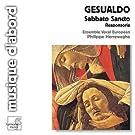 Gesualdo: Sabbato Sancto; Responsoria