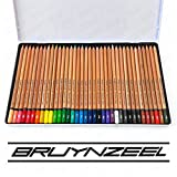 Bruynzeel–Expression Couleur–Boîte de 36crayons de couleur de l'artiste avec cœurs de 3,3mm