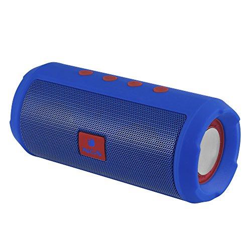 NGS Altavoz Bluetooth Azul Marino Roller Tumbler -
