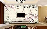 Wallpaper antike Gemälde Tapete Chinese Walls geblümten Tapeten Wände romantische Studie ehe Wände Phillips Schmetterling