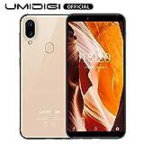 UMIDIGI A3 (2019), Smartphone Pas Cher 4G Ecran 5,5 Pouces Android 9.0 Pie, 2 Nano SIM + 1 MicroSD...