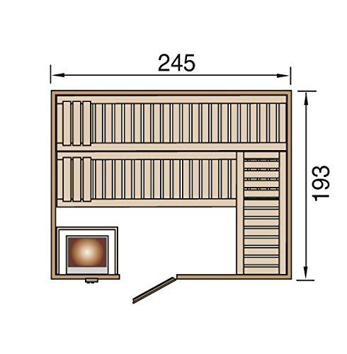 weka Design-Sauna KEMI 5 GTF Sparset