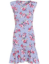 Love2Dress Floral Lilas-Wardrobe Robe avec ourlet