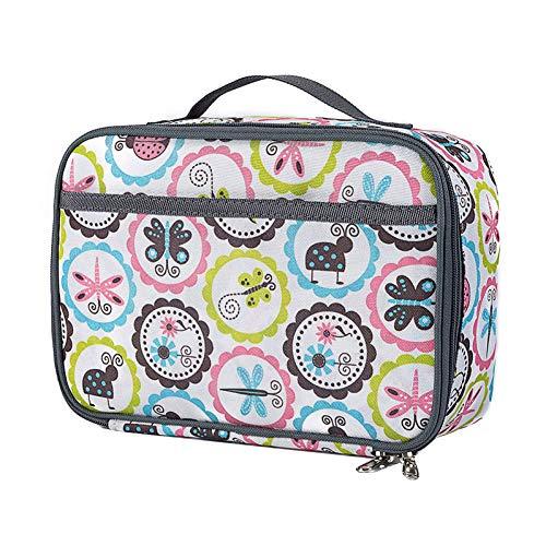 Rrunzfon Mittagessen-Beutel-bewegliche Oxford Cloth Isolierung Tasche Multi-Funktions-wasserdichte Kursteilnehmer Bento Bag Lunch Box-Handtasche für Kinder Erwachsene