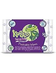Kandoo Sensitive Feuchttücher, 4er Pack(4 x 50 Stück)