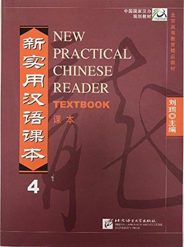 New Practical Chinese Reader vol.4 - Textbook: Textbook Vol 4 por Liu Xun