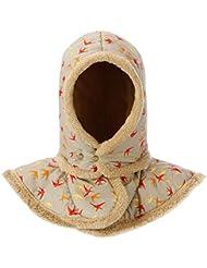 Global- Creativo del sombrero de la bufanda del sombrero del invierno, a prueba de viento proteger el oído de cuello Protección del espesamiento femenino paño grueso y suave de la tela del sombrero ( Color : Khaki )