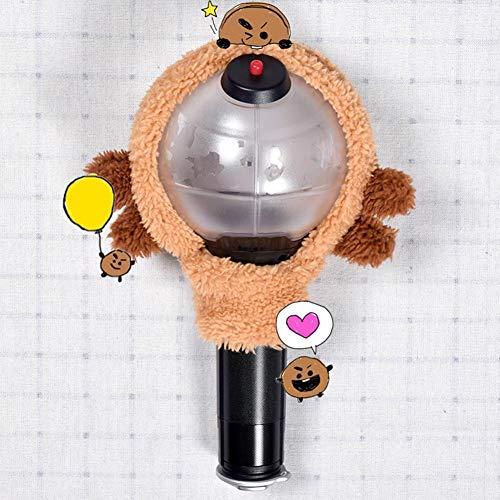 Skisneostype BTS Lightstick Cover, Kpop Bangtan Jungen Kawaii Limited Konzertlampe Army Bomb Light Stick Hülle für The Army(SHOOKY)