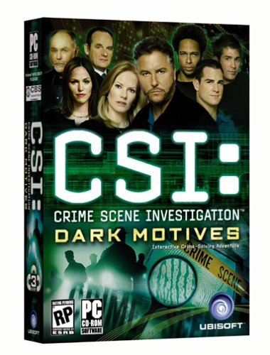 Click for larger image of Csi: Dark Motives / Game