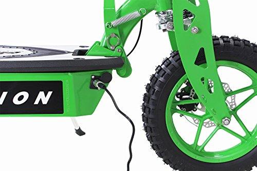 E-Scooter Roller Original E-Flux Vision mit 1000 Watt 36 V Motor Elektroroller E-Roller E-Scooter in vielen Farbe (Grün) - 5