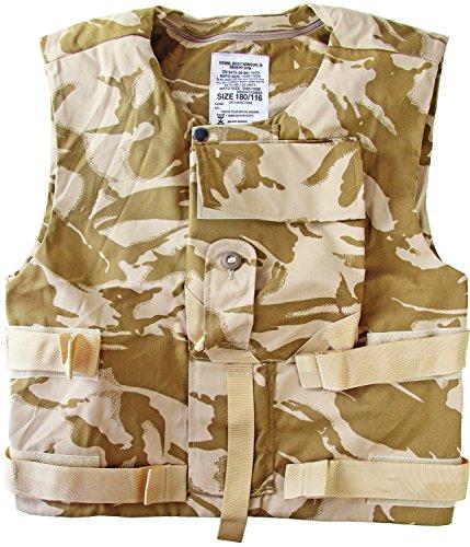 180/116 Tarnweste/Schutzweste mit vielen Taschen Camouflage