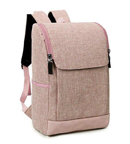 Hosaire Backpack Laptop Tasche Mode Schüler Rucksack Tasche für Laptop/Notebook/Ultrabook,44 x 26 x 13 cm,Khaki