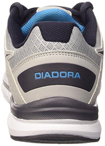 Diadora Unisex-Erwachsene Hawk 4 Gymnastikschuhe, Grau Grau / Schwarz