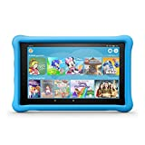 Fire HD 10 Kids Edition-Tablet, 25,65 cm (10,1 Zoll) 1080p Full HD-Display, 32 GB, blaue kindgerechte Hülle (vorherige Generation - 7.)