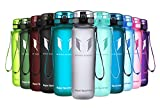 Super Sparrow Sports Water Bottle -32oz - Eco Friendly & BPA-Free Plastic