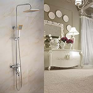hyj all- Kupfer Dusche Dusche Angeschnittene Kopf Duscharmatur, in der Wand XN–2281