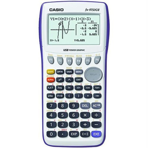 Preisvergleich Produktbild CASIO FX9750GII-WE GRAPHING CALCULATOR by Casio