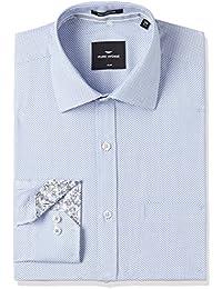 Park Avenue Men's Formal Shirt (8907663236604_PMSY09778-B4_Medium Blue_42)