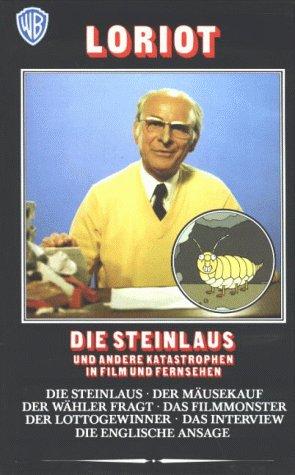 Produktbild Loriot - Die Steinlaus und andere Katastrophen in Film und Fernsehen [VHS]