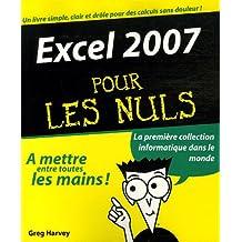 Excel 2007 pour les nuls
