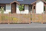 Gartentor aus Lärchenholz 100 x 80 cm