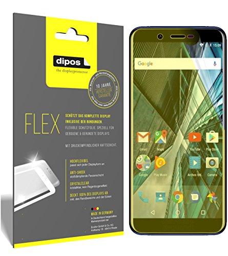 dipos I 3X Schutzfolie 100% passend für Archos Core 57S Folie (Vollständige Bildschirmabdeckung) Bildschirmschutzfolie