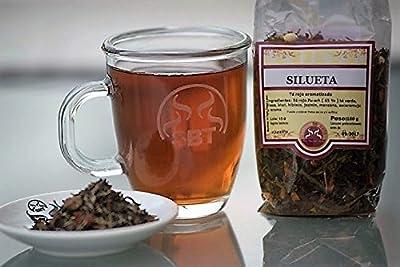 Thé Chine Yunnan Pu erh Silhouette rouge dans Hebra saboreateycafe sac 100 grammes. - Thé rouge Pu-erh, thé vert, fraise, kiwi, hibiscus, fleur de jasmin, pomme, églantier et arôme naturel - Idéal pour la perte de poids.